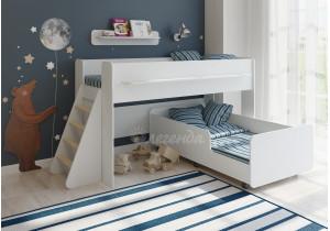 <span>Двухъярусная кровать</span> Легенда 23.3 белая
