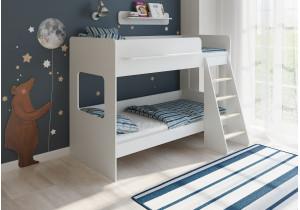 <span>Двухъярусная кровать</span> Легенда 25.1 белая